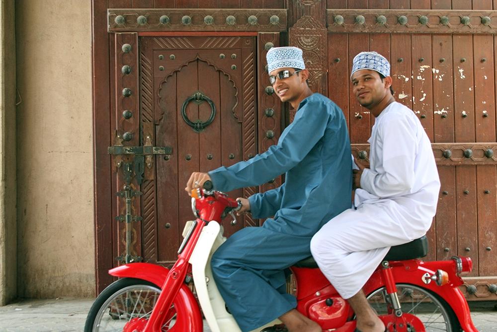 individuele reis Oman