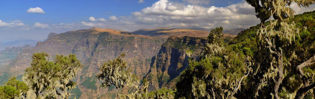Simien gebergte ethiopie