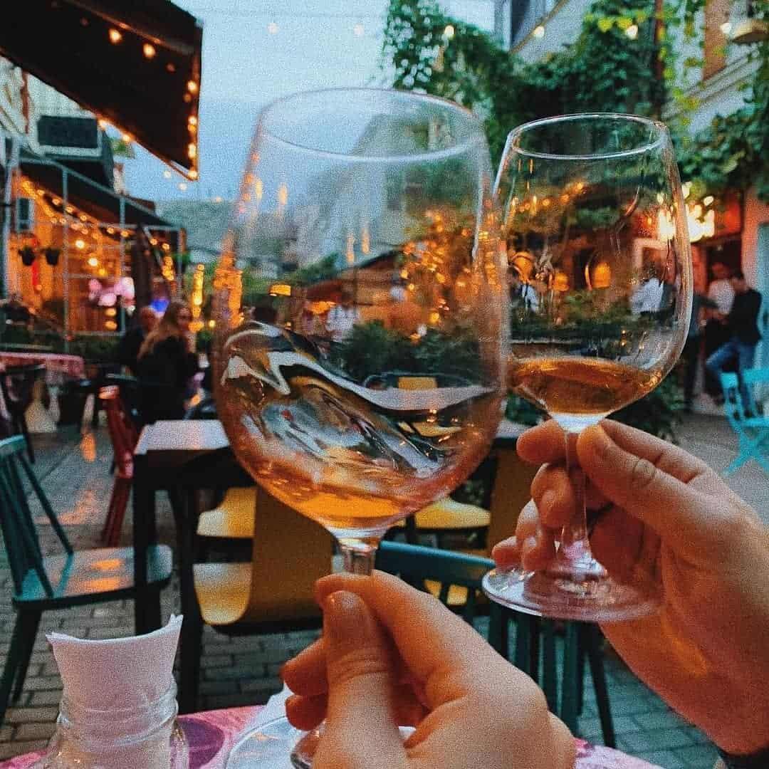 restaurant met terras Tbilisi