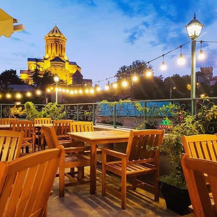 Restaurant Saamo in Tbilisi